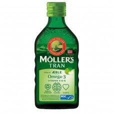 Möller's Omega 3 Jablko rybí olej 250ml