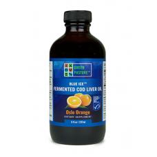 Blue Ice RAW 100% rybí olej tradičný fermentovaný z tresčej pečene - pomaranč