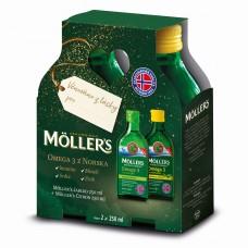 Darčekové balenie Möller's Citrón 250ml + Jablko 250ml