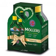 Darčekové balenie Möller's 2x250ml s citrónovou príchuťou